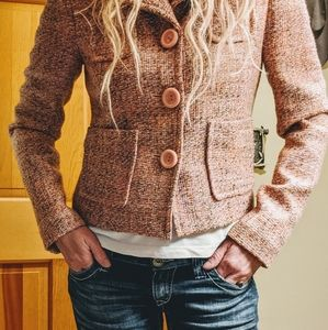 {GAP} Tweed Blazer